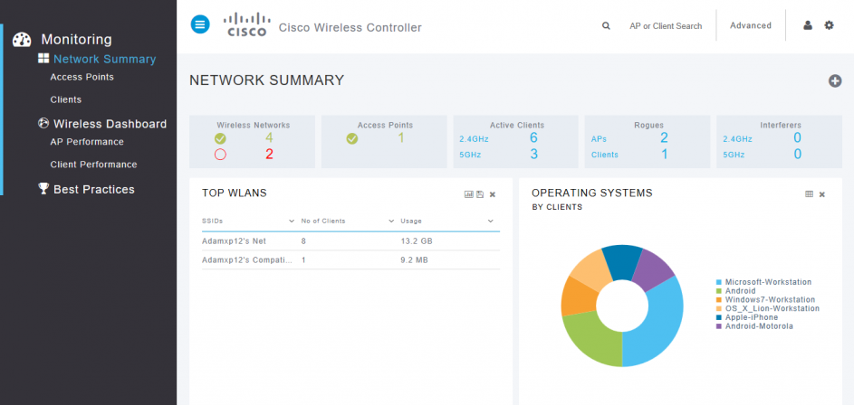 Home Cisco WIFI install with vWLC - bluntlab